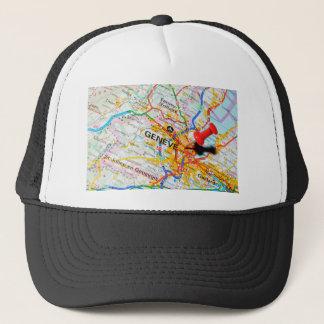 Geneve, Geneva, Switzerland Trucker Hat
