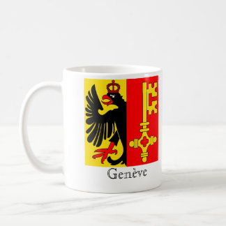 Genève, Suisse Drapeau Flags Coffee Mug