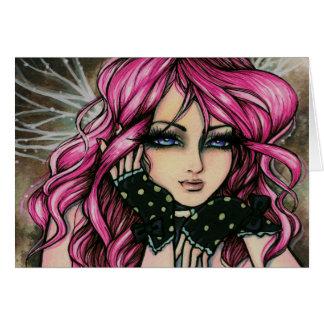 """Genevieve"" Steampunk Fairy Card"