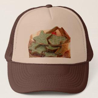 Genger Bread Star Cookies Trucker Hat