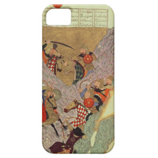 Genghis Khan (c.1162-1227) fighting the Chinese in iPhone 5 Cases