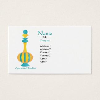 Genie Bottle Business Card