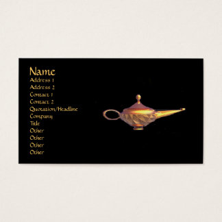 Genie Lamp Business Card