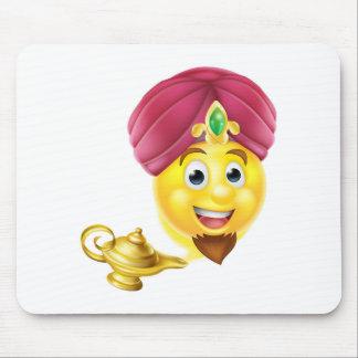 Genie Magic Lamp Emoji Mouse Pad