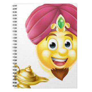 Genie Magic Lamp Emoji Notebooks