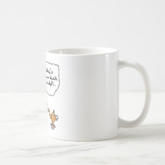 genie of_the lamp with arabic text coffee mug