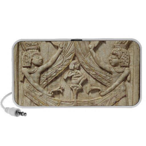 Génies à ailes, période assyrienne, c.750 AVANT JÉ Haut-parleurs Ordinateur Portable