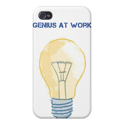 Genius At Work Covers For iPhone 4