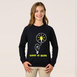 Genius at work sweatshirt