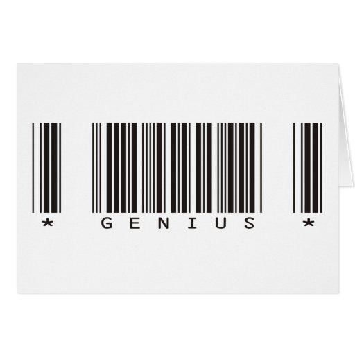 Genius Bar Code Card