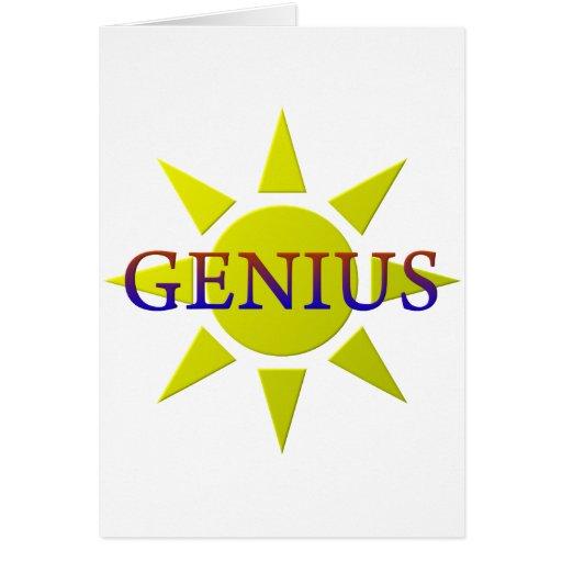 Genius Cards