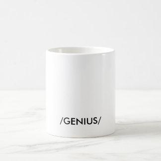 """""""GENIUS"""" COFFEE MUG"""