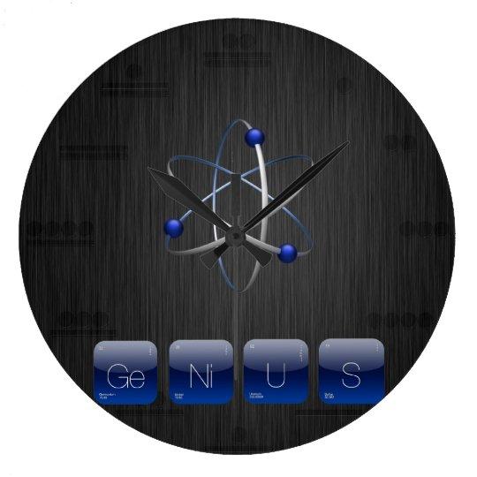 GENIUS Geek for Geek Periodic Table Wall Clock