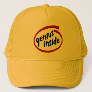 Genius Inside Trucker Hat