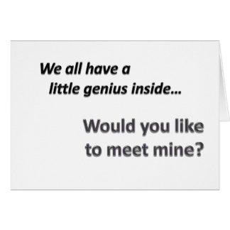 Genius Introduction Cards