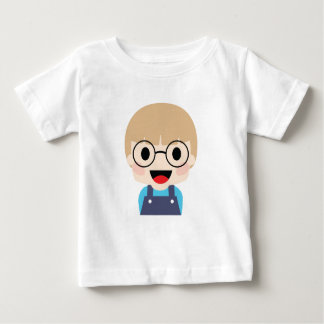 Genius Kid with big eyes Baby T-Shirt