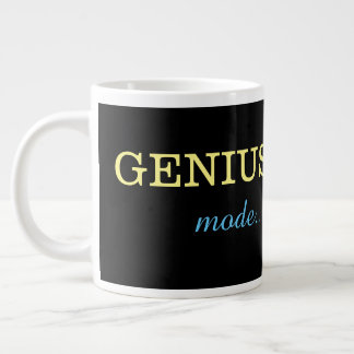 Genius mode large coffee mug
