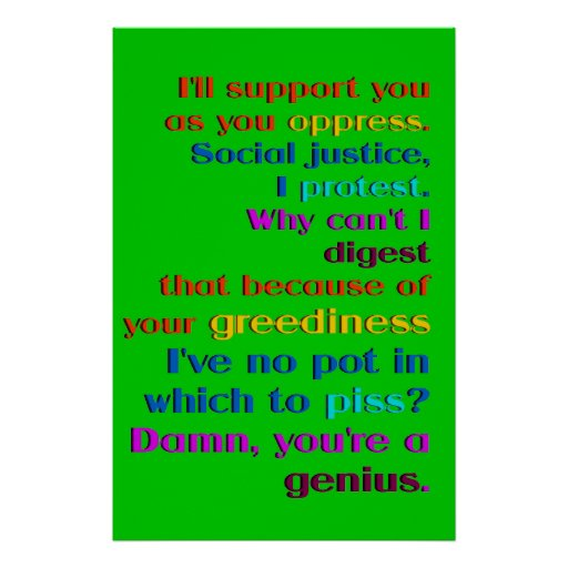 Genius of Oppression Poster