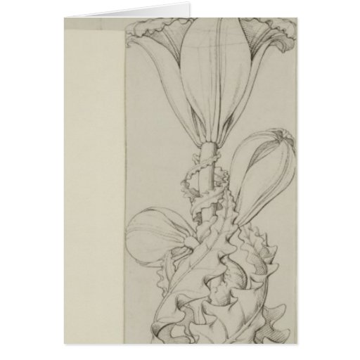 Genius of the Lily, 1809 Greeting Cards