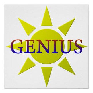 Genius Perfect Poster