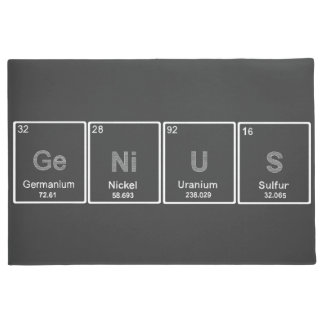 GeNiUS periodic table doormat