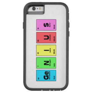 Genius Periodic Table Phone case