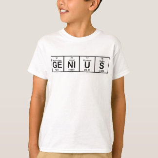 Genius Periodic Table T-Shirt