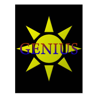 Genius Postcard