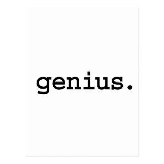 genius. post cards