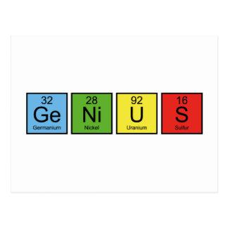 Genius Post Cards