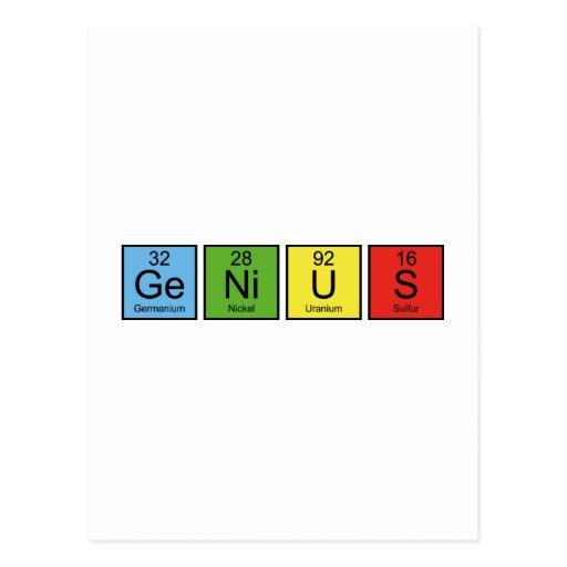 Genius Postcards