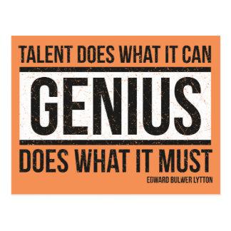 Genius Post Card