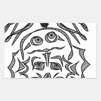 genius Skull Idea Sticker