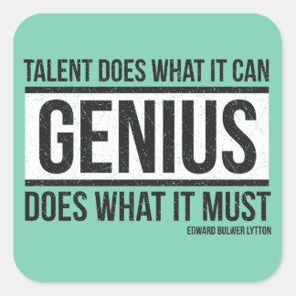 Genius Square Sticker