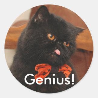 Genius! stickers