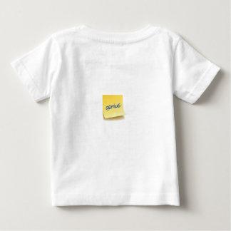 Genius Sticky Note Baby T-Shirt