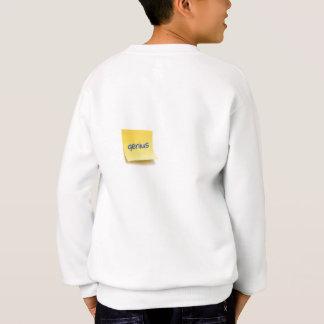 Genius Sticky Note Sweatshirt