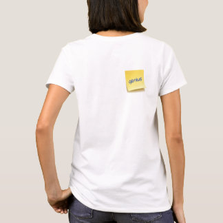 Genius Sticky Note T-Shirt