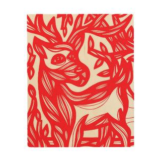 Genius Thoughtful Positive Novel Wood Canvases