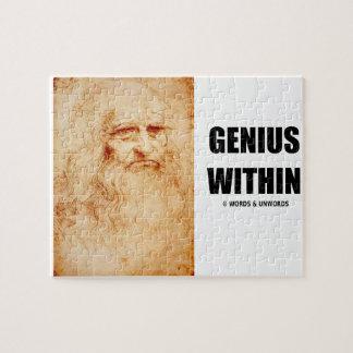 Genius Within (Leonardo da Vinci Self-Portrait) Jigsaw Puzzle