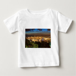 Genova and the port at evening baby T-Shirt