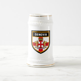 Genova Flag Beer Stein