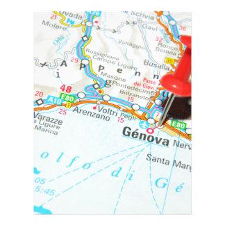 Genova, Italy Letterhead