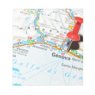Genova, Italy Notepad