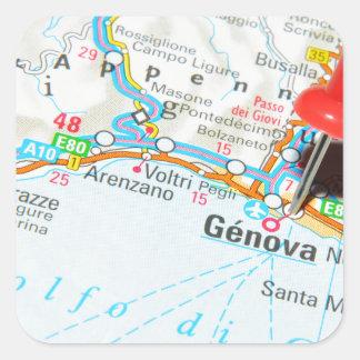 Genova, Italy Square Sticker