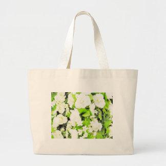 Gentil superbe mignon de paix florale de crèche de sac de toile