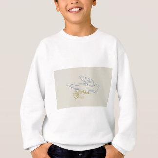 Gentle bird sweatshirt