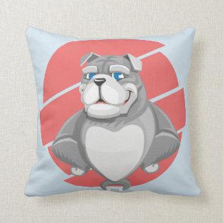 gentle dog throw pillow