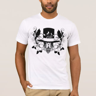 gentle doggy dog puffystyle fashion T-shirt