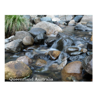 Gentle Flowing Creek Queensland Postcard